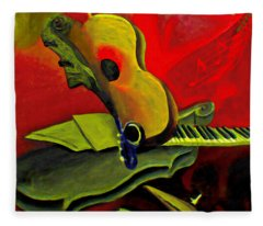 Jazz Infusion Fleece Blanket