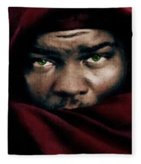 Jealous Othello Fleece Blanket