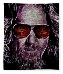 Jeff Lebowski - The Dude Fleece Blanket