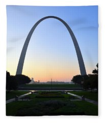 Jefferson National Expansion Memorial Fleece Blanket