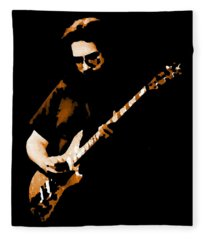 Jerry And His Guitar Fleece Blanket