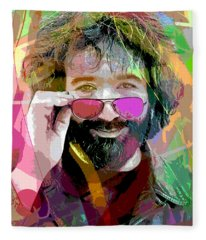 Jerry Garcia Art Fleece Blanket