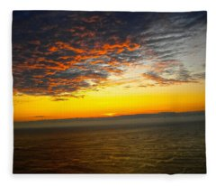 Jersey Morning Sky Fleece Blanket