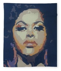 Jill Scott Fleece Blanket