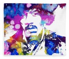 Jimi Hendrix - Stoned Fleece Blanket