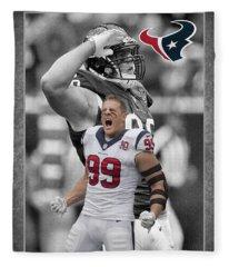 Jj Watt Texans Fleece Blanket