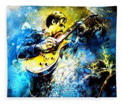 Joe Bonamassa 01 Bis Fleece Blanket