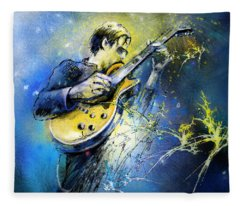 Joe Bonamassa 01 Fleece Blanket