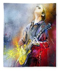 Joe Bonamassa 02 Fleece Blanket