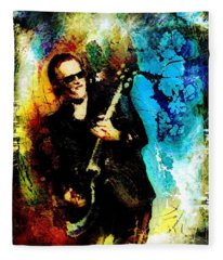 Joe Bonamassa Madness Fleece Blanket