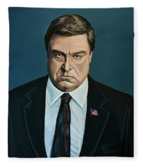 John Goodman Fleece Blanket