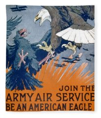 Join The Army Air Service, Be An Fleece Blanket