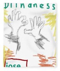 Jose Saramago Blindness Poster Fleece Blanket