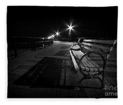 Journey Into Darkness Fleece Blanket