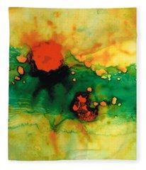 Jubilee - Abstract Art By Sharon Cummings Fleece Blanket