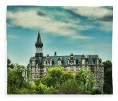 Jubilee Hall At Fisk University - Nashville Tennessee Fleece Blanket