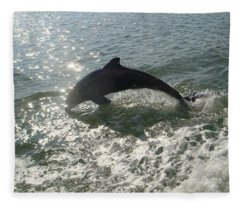 Jumping For Joy Fleece Blanket