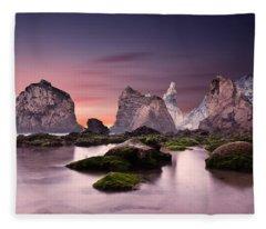 Jurassic Fleece Blanket