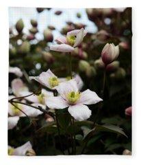Just Flowers Fleece Blanket