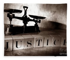 Justice Fleece Blanket