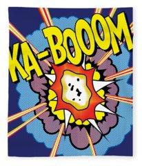 Ka-boom 2 Fleece Blanket