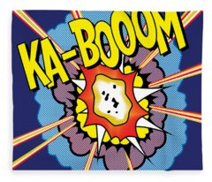 Ka-boom 2 Fleece Blanket