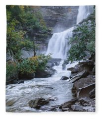 Kaaterskill Falls Fleece Blanket