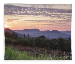 Kancamagus Highway - White Mountains New Hampshire Usa Fleece Blanket