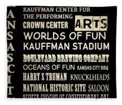 Kauffman Stadium Fleece Blankets