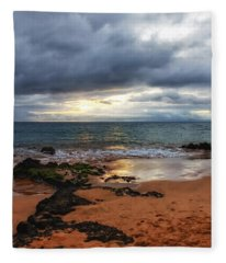 Keawakapu Sunset Fleece Blanket