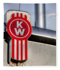 Kenworth Hood Logo 34709 Fleece Blanket