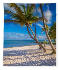 Key West Florida Fleece Blanket