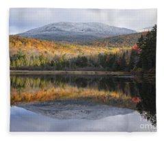 Kiah Pond - Sandwich New Hampshire Fleece Blanket
