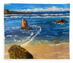 Kiama Beach Fleece Blanket