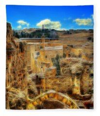 King Davids House Fleece Blanket