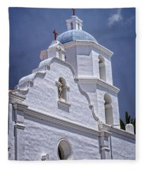 King Of The Missions Fleece Blanket