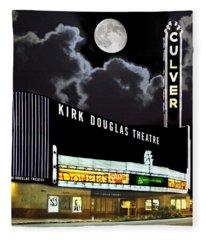 Kirk Douglas Theatre Fleece Blanket