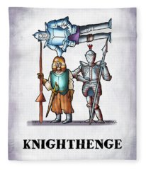 Knighthenge Fleece Blanket