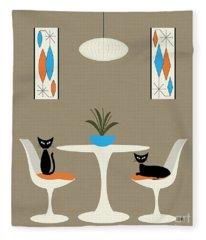 Knoll Table Fleece Blanket