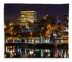 Knoxville Waterfront Fleece Blanket