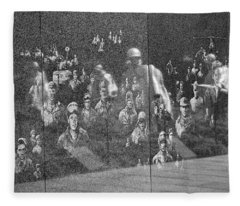 Korean War Veterans Memorial Fleece Blanket