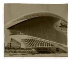 L' Hemisferic - Valencia Fleece Blanket