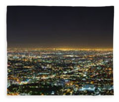 La At Night Fleece Blanket