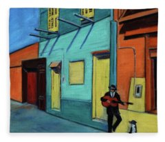 La Boca Morning II Fleece Blanket