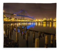 L.a Harbor Fleece Blanket