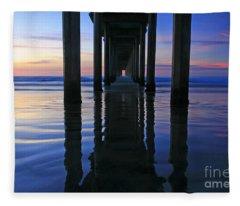 La Jolla Dream Light Fleece Blanket