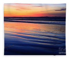 La Jolla Shores Fleece Blanket