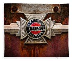 Lafrance Badge Fleece Blanket