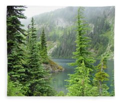 Lake Eunice II Fleece Blanket