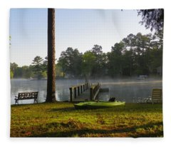 Lake Life Fleece Blanket
